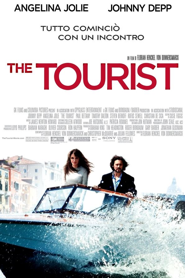 The Tourist poster