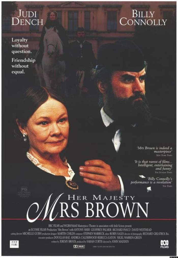 Her Majesty, Mrs. Brown poster