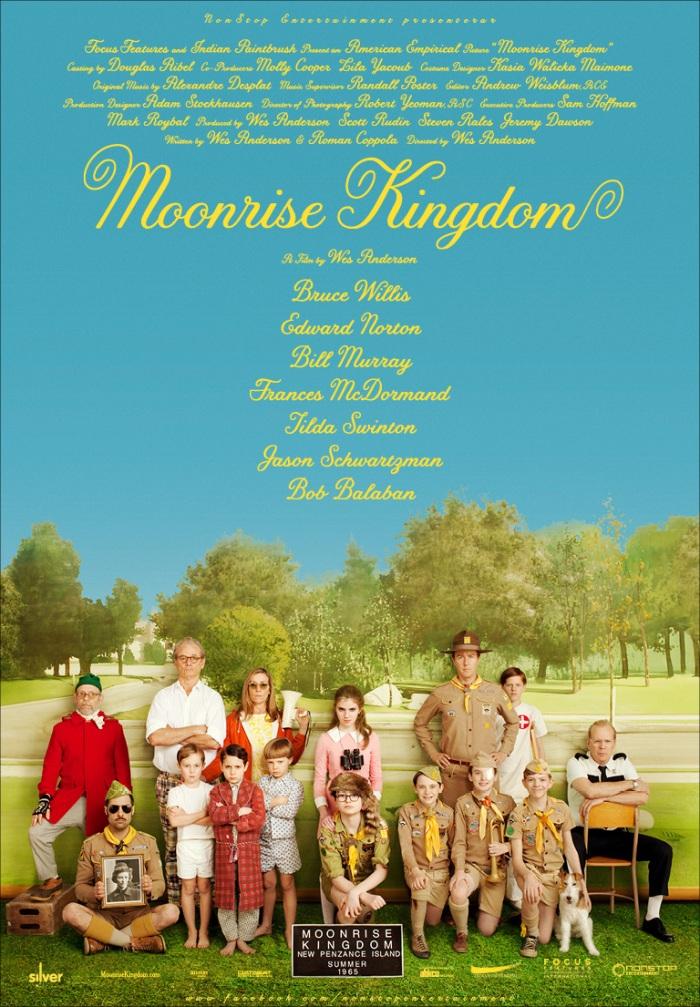 Moonrise Kingdom poster