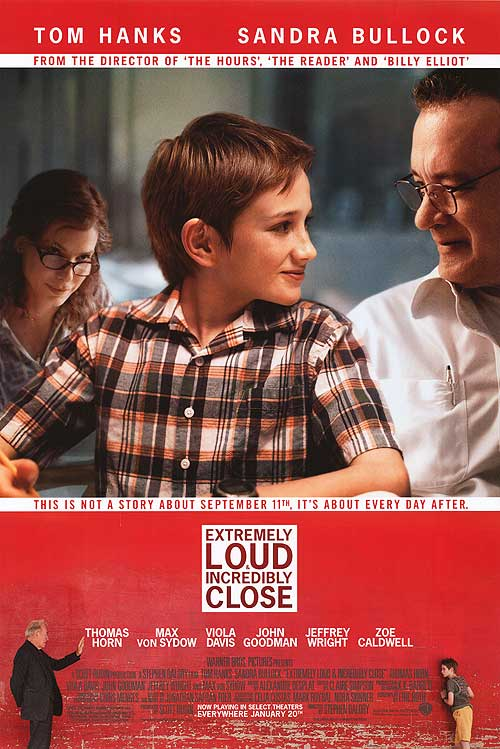 Extremely Loud, Incredibly Close poster