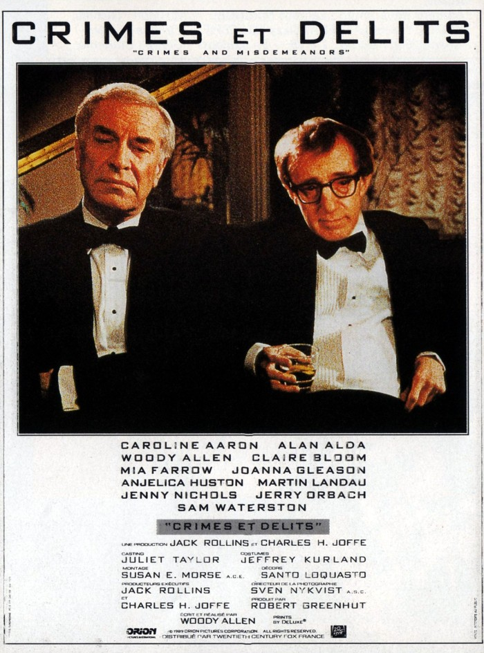 Crimes and Misdemeanors 1989