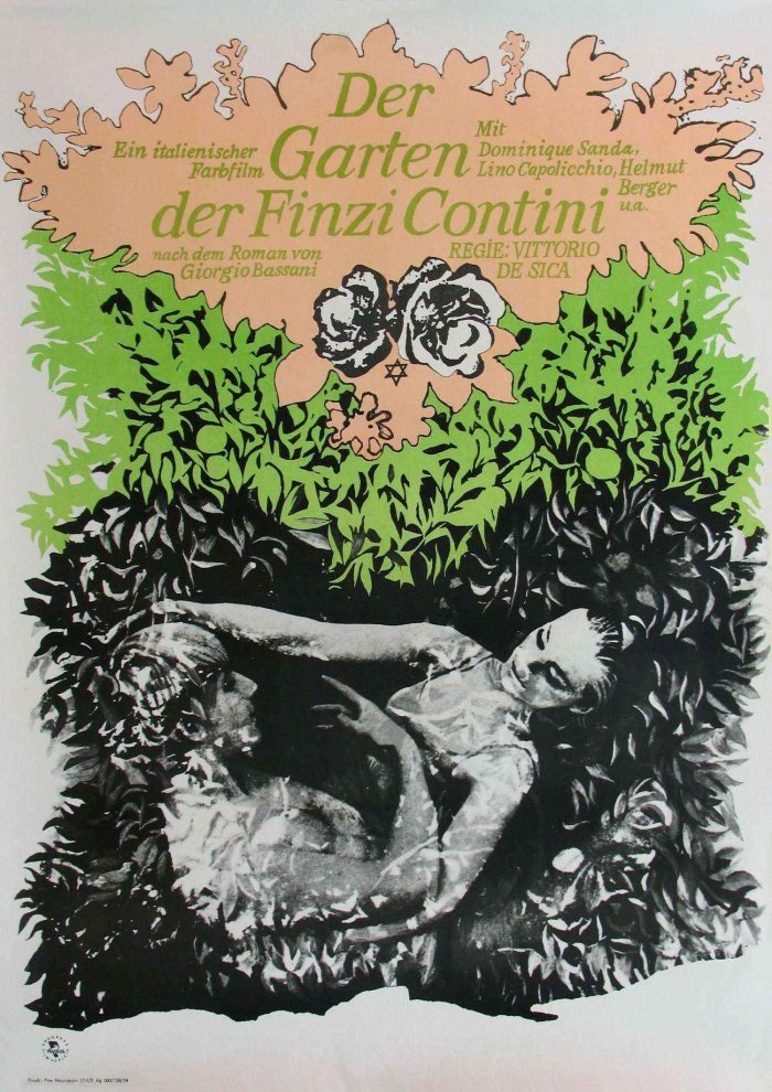 The Garden of the Finzi-Continis poster