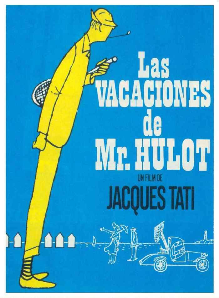Mr. Hulot's Holiday poster