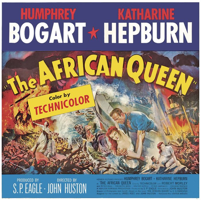 the African Queen 1951 poster