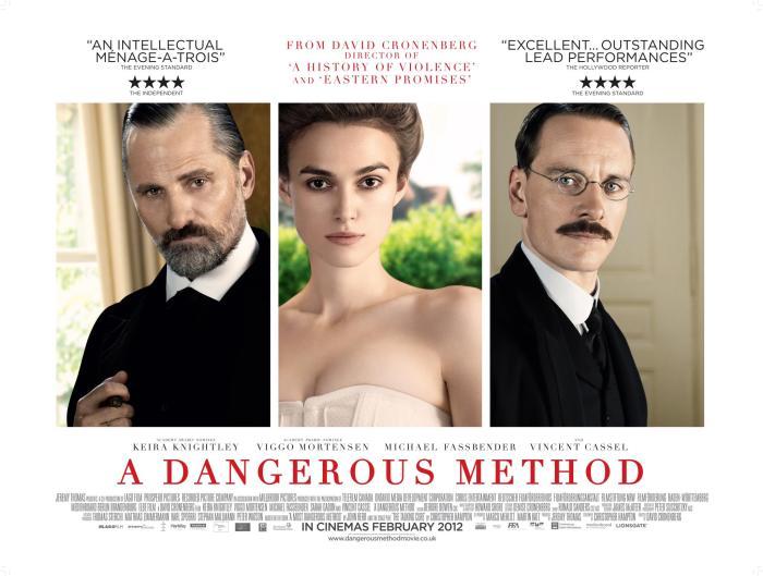 [Last Film I Saw] A Dangerous Method (2011) – Cinema Omnivore A Dangerous Method Poster