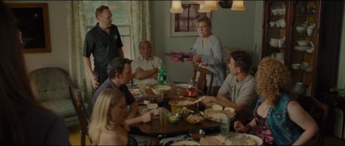 Mullins'  big noisy family