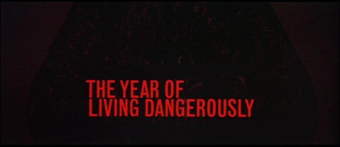 [Film Review] The Year of Living Dangerously (1982 ...