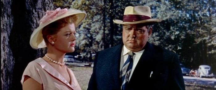 Angela Lansbury and Welles, a bad matched pair