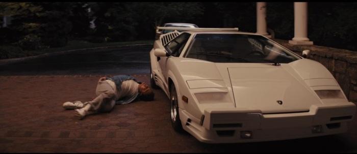 Jordan crawling back his Lamborghini, best action stunt of the year!