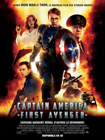 Captain America - The First Avenger poster