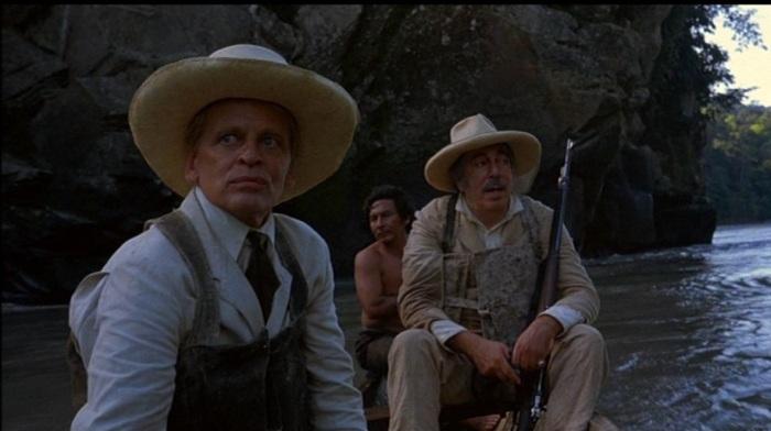 rubber business probing, Kinski with Lewgoy