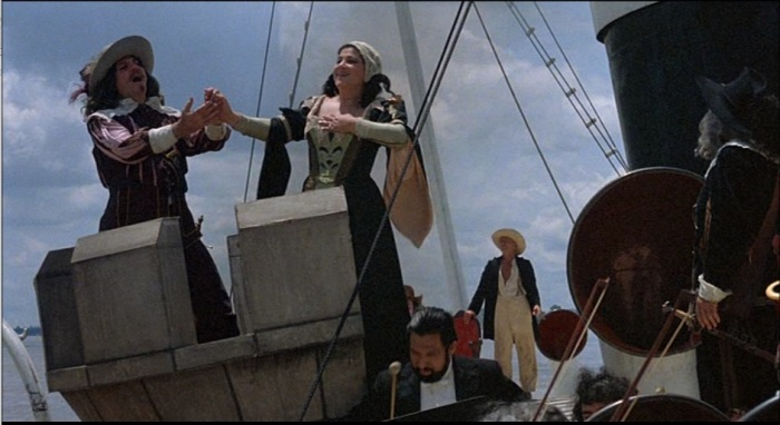 opera on the boat