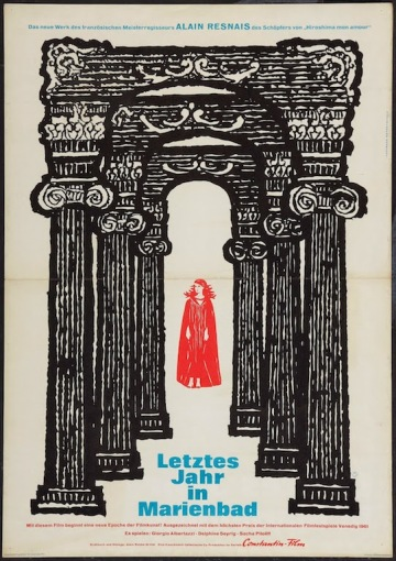 Last Year at Marienbad poster