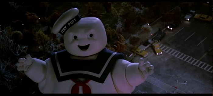 the giant marshmallow man