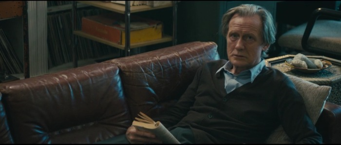 Nighy as the father