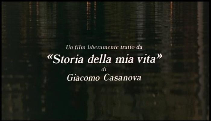 Fellini's Casanova 1