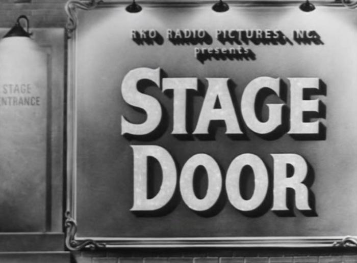 Stage Door 1