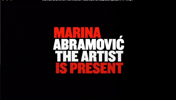 Marina Abramovic- The Artist Is Present 2