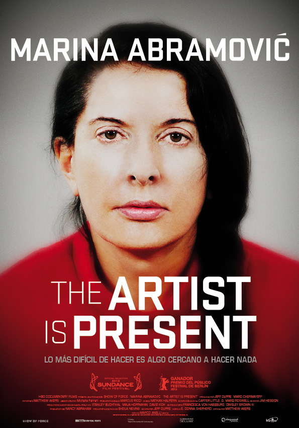 Marina Abramovic- The Artist Is Present poster