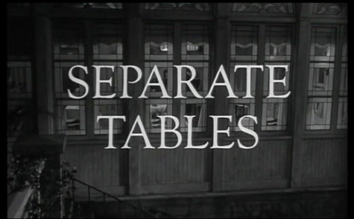 Separate Tables 1