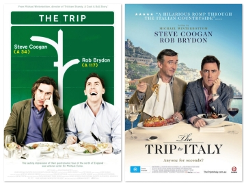 The Trip, The Trip to Italy poster