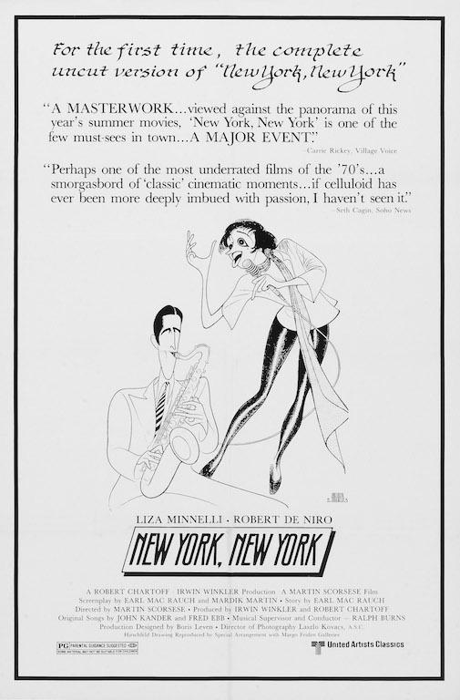 New York , New York poster