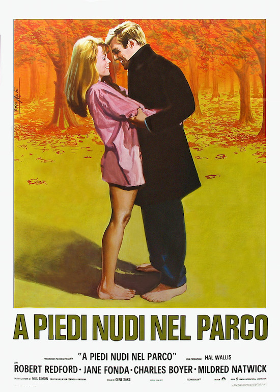 Barefoot in the Park poster