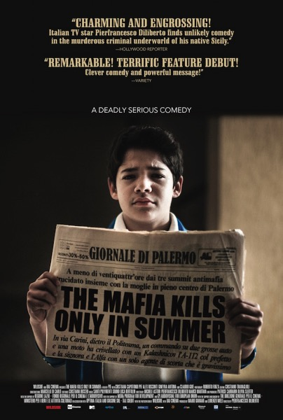 The Mafia Only Kills in Summer poster