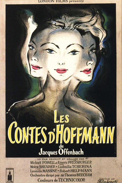 The Tales of Hoffmann poster