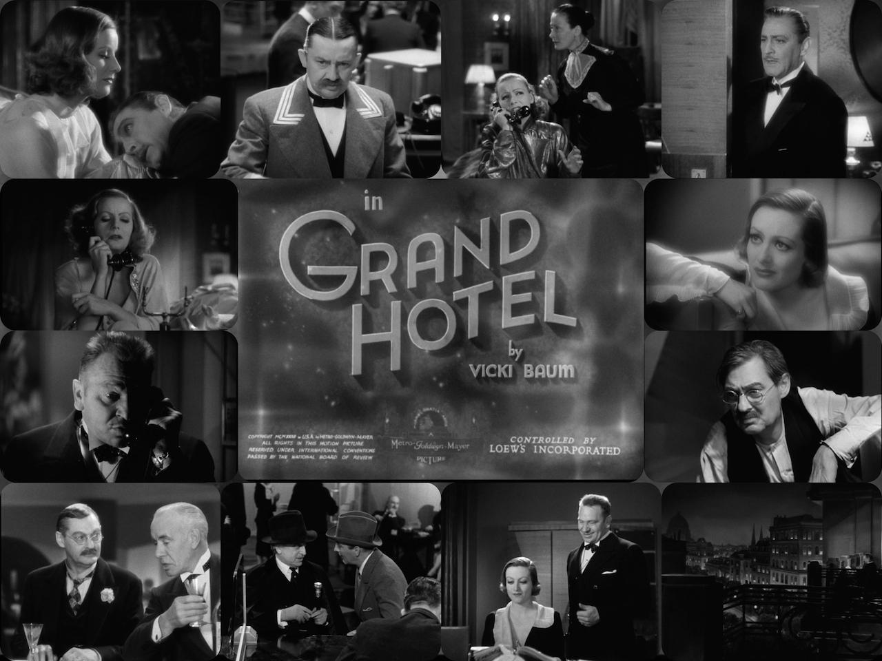 film review grand hotel 1932 cinema omnivore. Black Bedroom Furniture Sets. Home Design Ideas