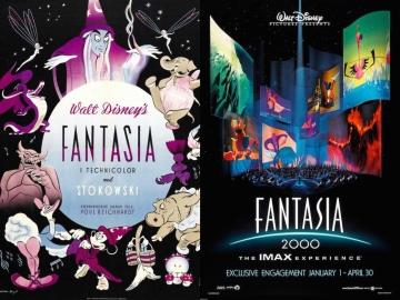 Fantasia and Fantasia 2000 posters