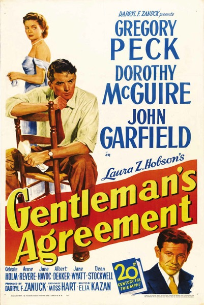 Gentleman s Agreement poster