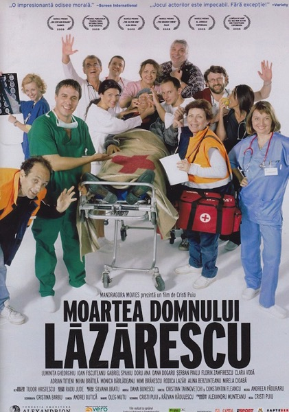 The Death of Mr Lazarescu poster