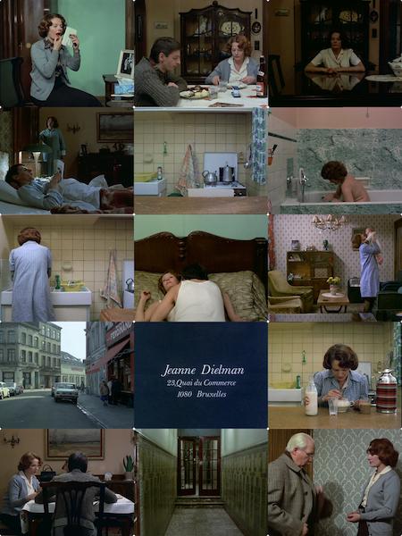 Jeanne Dielman, 23 Quai du Commerce,1080 Bruxelles 1975