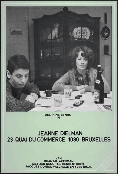 Jeanne Dielman 23 Quai du Commerce 1080 Bruxelles poster