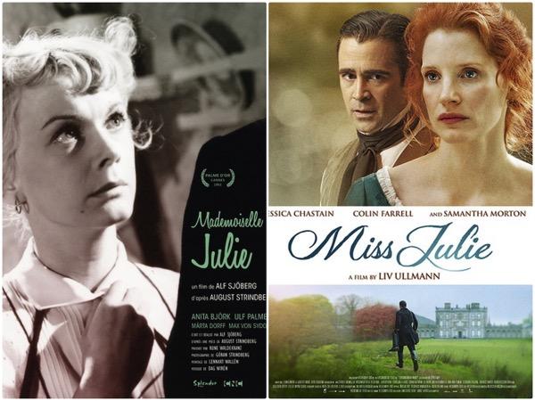 Miss Julie posters