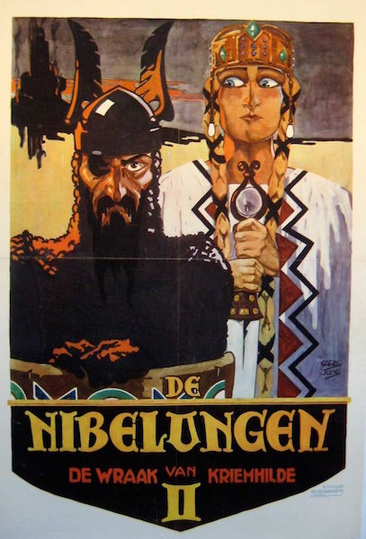 Die Nibelungen  Kriemhild s Revenge poster j
