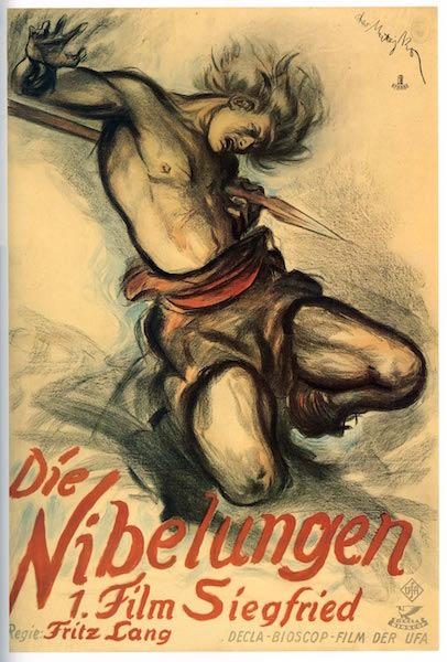 Die Nibelungen  Siegfried poster