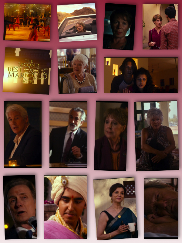 The Second Best Exotic Marigold Hotel 2015