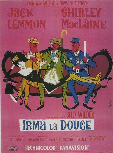 Irma La Douce poster