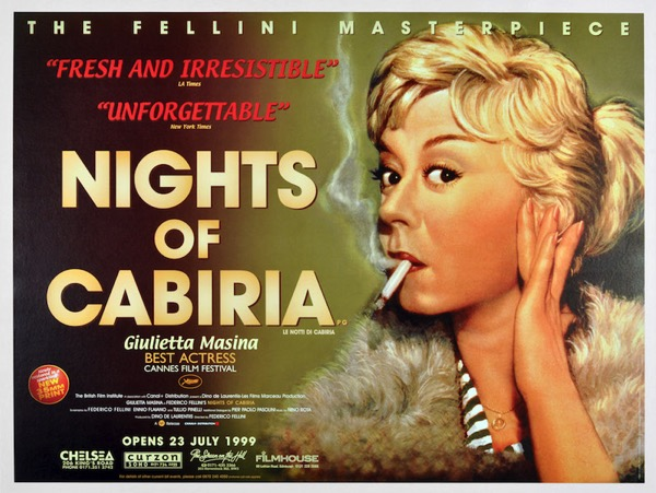 Nights of Cabiria poster