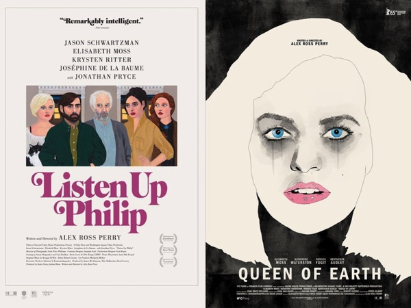 Listen Up Philip and Queen of Earth posters