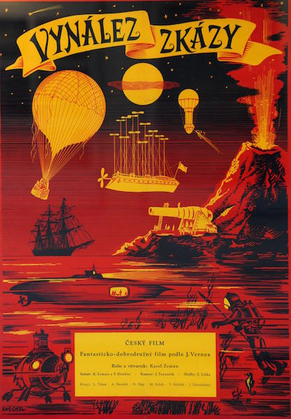 The Fabulous World of Jules Verne poster