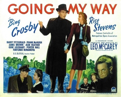 Image result for Going My Way 1944 poster