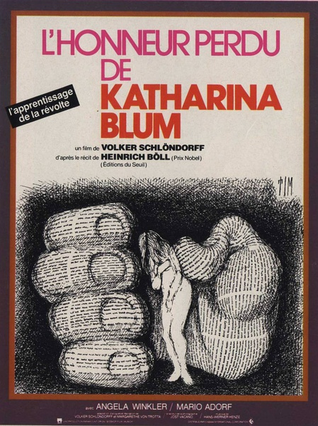 The Lost Honor of Katharina Blum poster