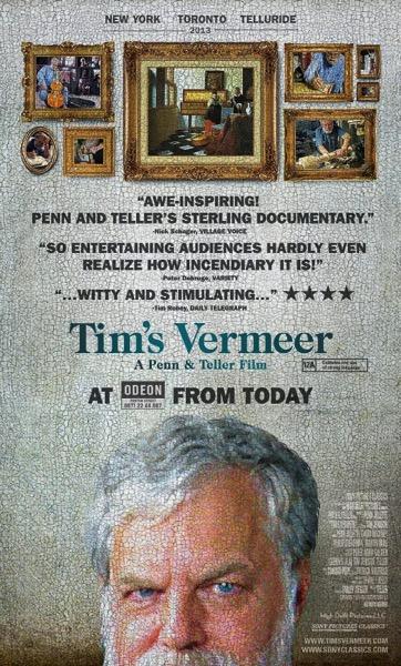 Tim s Vermeer poster