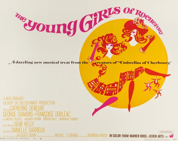 The Young Girls of Rochefort poster