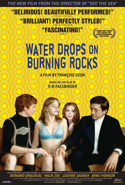 Water Drops on Burning Rocks poster
