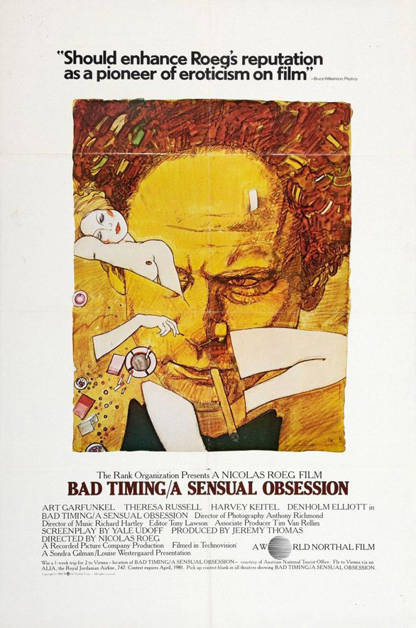 Bad Timing poster