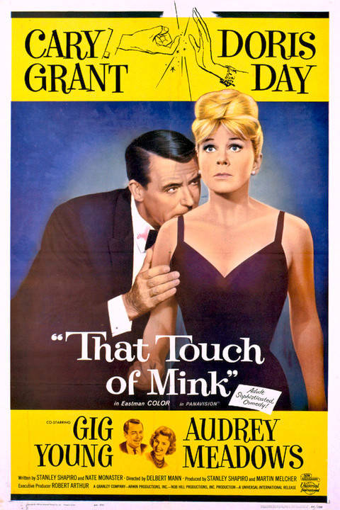 That Touch of Mink poster